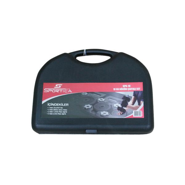 Sportica Spk10 Döküm Çantalı Set 10Kg