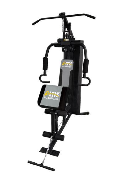 Altis HG200 Plus Vücut Geliştirme Çalışma Istasyonu - 70 kg Plaka Ağırlıklı