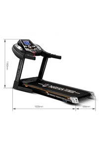 Hattrick - Hattrick Perfection X3 Otomatik Eğimli Koşu Bandı 3 HP