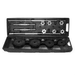 Sportica - Sportica Spk50 Çantalı Set Döküm 50Kg