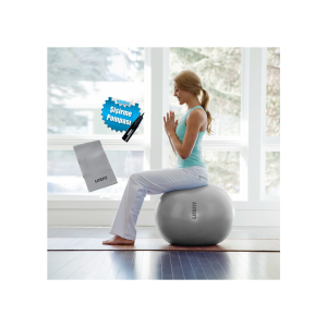 Lifefit - Lifefit Sps65 Pilates Topu 65Cm+Pilates Bandı+Pompa