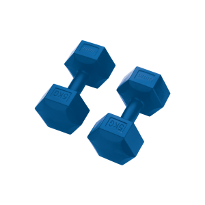 Lifefit - Lifefit Spu 5 Plastik Köşeli Dambıl 5Kg